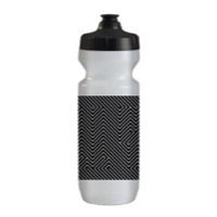QBP Purist Water Bottle - Hell Yes Black/White