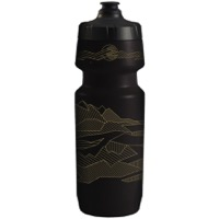 QBP 2G Big Mouth Water Bottle - Panoramic Dreams Black