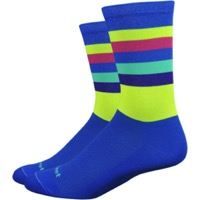 "DeFeet Aireator 6"" Maverick Socks - Blue"