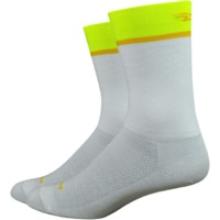 "DeFeet Aireator 6"" Team DeFeet Socks - Yellow"