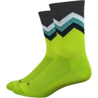 "DeFeet Aireator 6"" Barnstormer Freedi Socks - Yellow"
