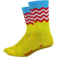 "DeFeet Aireator 6"" Barnstormer Fuse Socks - Yellow"