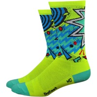 "DeFeet Aireator 6"" Shazam Sock - Yellow"