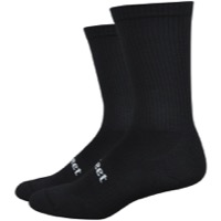 DeFeet D-Evo Cush Crew Socks - Black