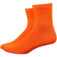 "DeFeet Aireator 4"" Womens Socks - Hi-Vis Orange"