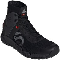 Five Ten Trailcross Mid Pro Flat Pedal Men's Shoe - Black/Gray Two/Solar Red