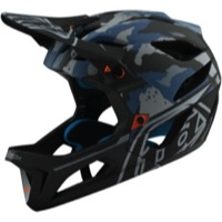 Troy Lee Designs Stage MIPS Helmet 2020 - Camo Light Blue