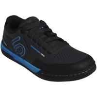 Five Ten Freerider Pro Women's Flat Pedal Shoes - Carbon/Shock Cyan/Black
