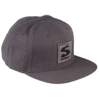 Surly Gray Area Snap Back Hat - Dark Heather Gray