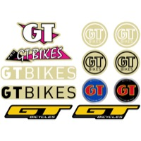 GT Bicycles Sticker Pack