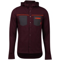 Pearl Izumi Summit Insulated Shirt - Garnet Heather