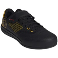 Five Ten Hellcat Pro Clipless Pedal Men's Shoes - Core Black/Hazy Yellow/FTWR White