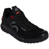 Five Ten Trailcross LT Flat Pedal Women's Shoes - Core Black/Grey Two/Solar Red