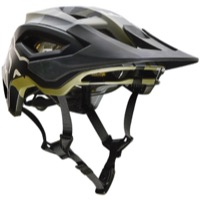 Fox Racing Speedframe Pro MIPS Helmet 2021 - Green Camo