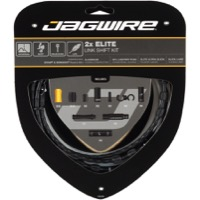 Jagwire Elite Link Universal 2x Shft Cable/Hsg Set