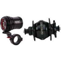 Exposure Lights Revo Dynamo Disc Hub QR & Light