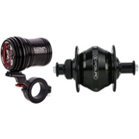 Exposure Lights Revo Dynamo Rim Hub QR & Light