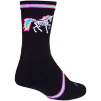 SockGuy Dark Magic Crew Socks - Black