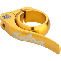 Salsa Flip Lock Seatpost Clamp  - Gold