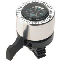 Dimension Compass Bell - Silver/Black