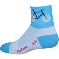 "DeFeet AirEator 2"" Petal Power Socks"