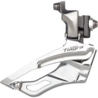 Shimano Tiagra 4703 10-speed Triple 28.6//31.8mm Front Derailleur for sale online