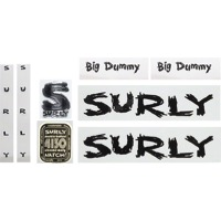 Surly Big Dummy Frame Decal Set w/Headbadge