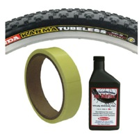 Tubeless Tire Installation