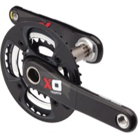 Sram X0 GXP Double Cranksets w/Bash Guard - 10 Speed