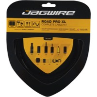 Jagwire Road Pro XL Road Cable/Housing Kit - Includes Brake & Derailleur Cable/Housing