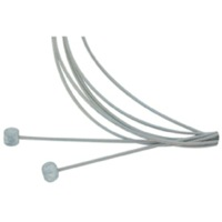 Delta Stainless Mountain Brake Cable Set