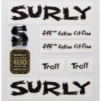 Surly Troll Decal Set w/Headbadge