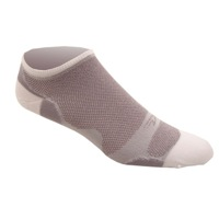DeFeet Levitator Lite No See-um Socks - Grey/White
