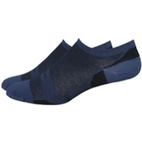 DeFeet Levitator Lite No See-um Socks - Black/Grey