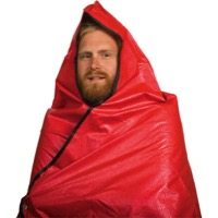 Grabber Hooded All Weather Survival Blanket