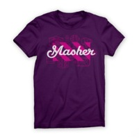 Twin Six Womens Masher T-Shirt - Eggplant
