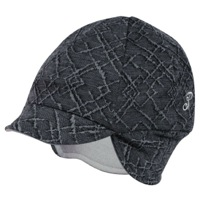 Pace Reversible Merino Wool Cycling Cap - Diamond/Graphite