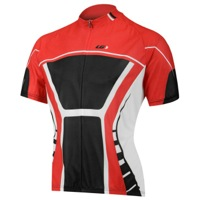 Louis Garneau Equipe Semi-Pro Jersey - Red/Black/White