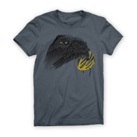 Twin Six Womens Fly By Night T-Shirt - Gray