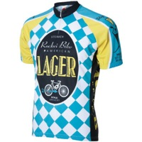 World Jerseys Moab Rocket Bike Lager Jersey - White/Blue/Yellow