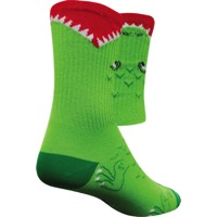 SockGuy Alligator Crew Socks - Green