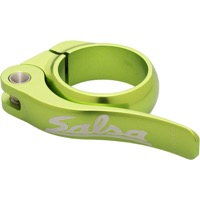Salsa Flip Lock Seatpost Clamp - Lime