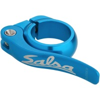 Salsa Flip Lock Seatpost Clamp - Teal