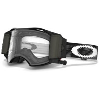 Oakley Airbrake MX Race Ready Roll-Off Goggles - Jet Black Speed/Clear
