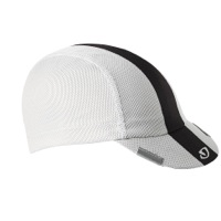 Giro Peloton Cycling Cap - White/Black/Gray