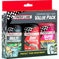 Finish Line Bike Care Value Pack