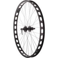 Shimano XT/Surly Rabbit Hole 29+ Offset Rear Wheel - 135mm Hub Spacing
