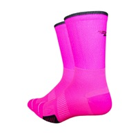 DeFeet Cyclismo Socks - Hi-Vis Pink
