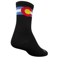 "SockGuy SGX Colorado 6"" Socks - Black"