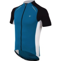 Pearl Izumi Elite Pursuit Jersey - Mykonos Blue/White